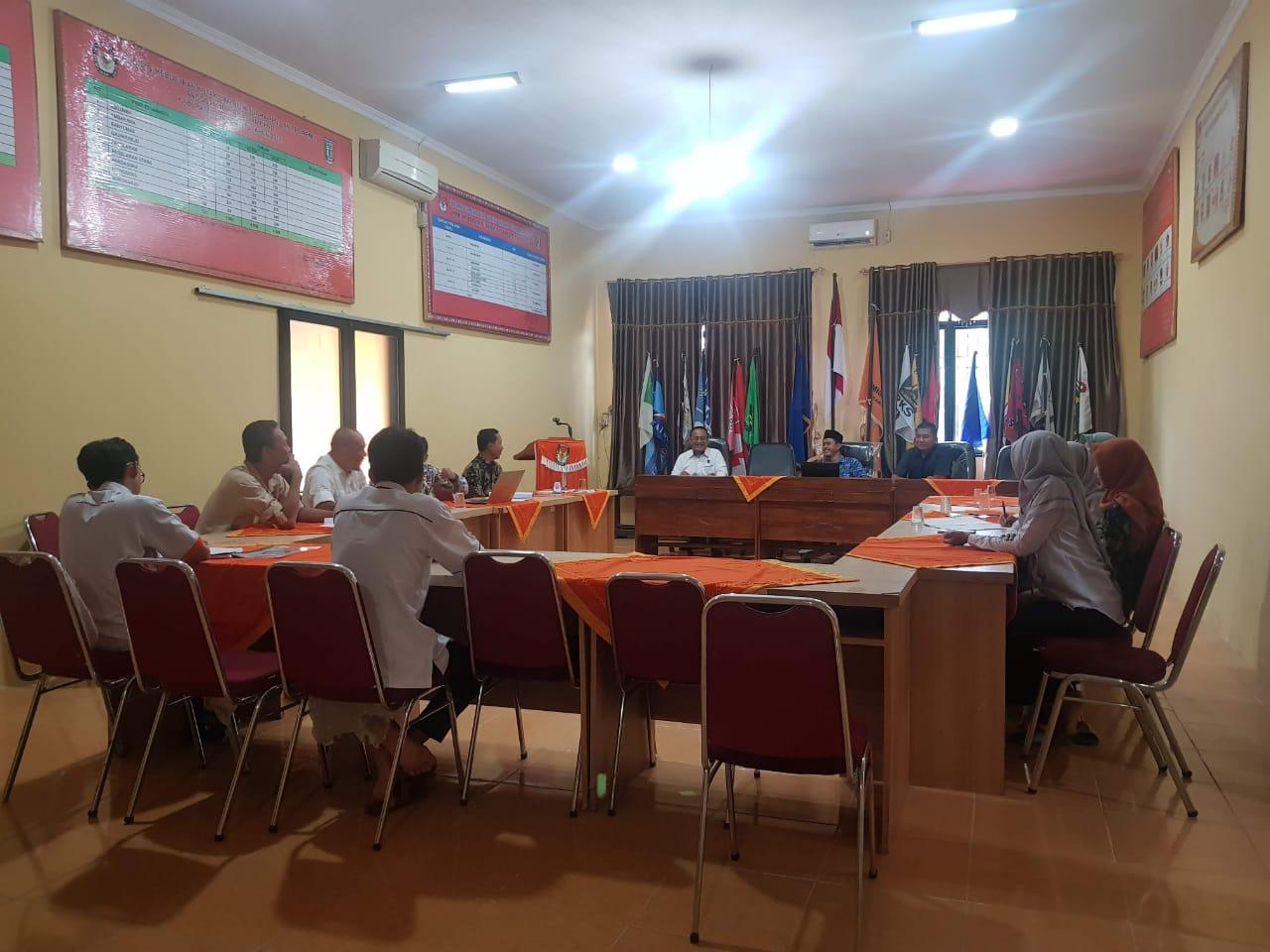 Rapat Rutin Internal KPU Kabupaten Pringsewu